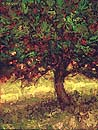 St. Vincent Millay's Orchard, 9 x 7 inches, oil on panel